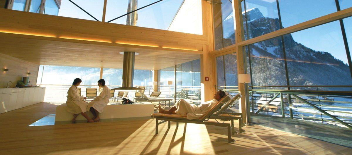 Sky Spa Liegebereich hotel krone au