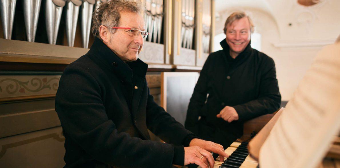 Orgelkonzert mit Walter Lingg & Arnold Meusburger Hotel Krone Au Bregenzerwald